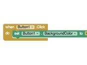 Como programan apps moviles Inventor (bloques lógicos)