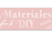 Materiales DIY: Marcapáginas para Libro