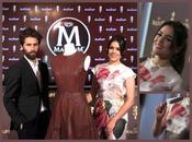 "Adriana Ugarte guapisima vestido ""Chocolate Magnum"". Diseño Juan Vidal"