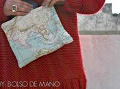 Diy: bolso mano mapa