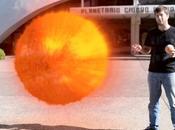 Proyecto Sandía Video: Sistema Solar Escala sobre Rosario