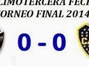 Colón:0 Boca:0 (Fecha 13°)