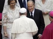 Reyes España asisten canonización Papas Juan XXIII Pablo