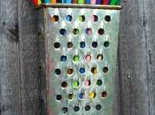 lapicero hecho rallador reciclado