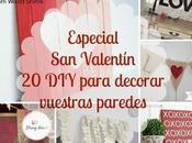 Especial Valentin: para decorar vuestras paredes