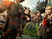"Nuevo póster para españa ""como entrenar dragón"