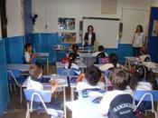 Pomares visita alumnos Colegio Antonio Padua