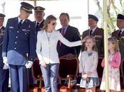 Príncipes Asturias asisten primer acto militar infantas Leonor Sofía