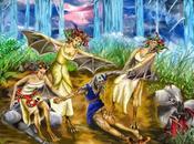 Seres mitológicos voladores GORGONA
