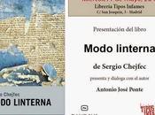 """Presentación """"Modo Linterna"""" Sergio Chejfec Madrid"""