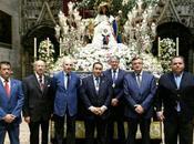 Nuestra hermandad, presente procesiones Divina Pastora Antonio Virgen Consolación Utrera