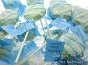 Cakepops para bautizo Chemita