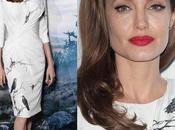Gira maléfica: looks Angelina Jolie Elle Fanning photocall Londres