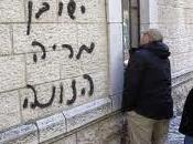 Grafittis anticristianos Israel alarman Iglesia antes visita papal