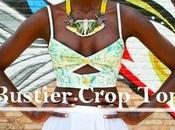 Bustier crop