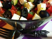 Ensalada Griega Tomate, Pepino Queso Feta