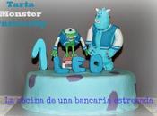 Tarta monster university, celebrando primer cumpleaños