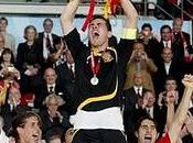 España, campeón mundo representa hincha