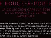 Colección Cápsula 2014 Givenchy