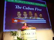 Ovación para Cubanos recibir Premio Derechos Humanos EE.UU