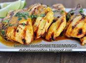 Pollo receta para diabeticos pollo piña