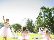 Fiestas cumpleaños temáticas: pequeñas bailarinas.