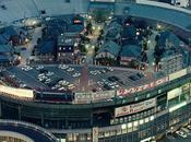 ciudad construida estadio béisbol Osaka