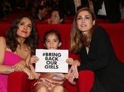 Salma Hayek Julie Gayet suman campaña 'Bring Back Girls'