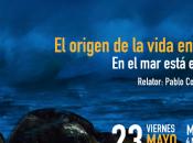 """Charla origen vida Tierra: está comienzo"""" Valparaíso"""