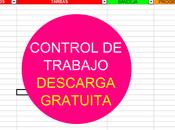 Descarga gratuita GTD: Control trabajo Excel