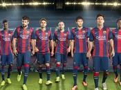 Barça presenta camiseta para temporada 2014/15
