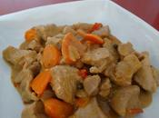 cocinamos… Estofado pavo salsa pimienta verde