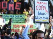 Brasil paraliza menos arranque Copa Mundo
