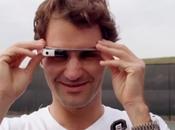 Google Glass: mira tenis través ojos Roger Federer