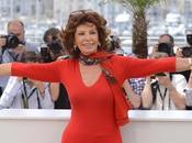 Sofía Loren deslumbra Cannes
