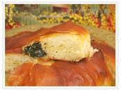"""Ensaimada """"suculenta"""" espinacas queso para Carolina"""