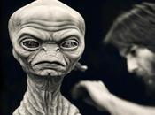 legendario maquillador, Rick Baker, publica diseños padre chungo E.T.