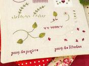 Cahier Broderie Hoja