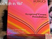 Base maquillaje crema colección life kiko