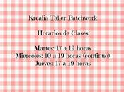 Horarios Taller