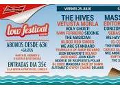 Distribución días Festival 2014