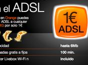 Orange ofrece ADSL euro