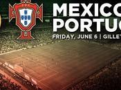 Previa México Portugal amistoso Junio