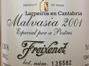 Cava Malvasía 2001 Freixenet Cuvée Prestige: Mucho para postre