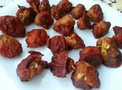 Alitas pollo veganas coliflor estilo Buffalo