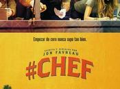 """Póster español """"#chef"""" dirigida protagonizada favreau"""