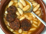 Fabada asturiana minifalafeles choriceros