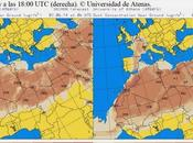 España: Previsión intrusión polvo africano junio 2014