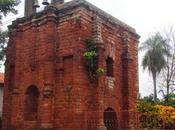 Ruinas jesuíticas Santa Rosa. Misiones. Paraguay