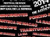 Festival GraniRock: Reincidentes, Sinkope, Poncho Raíz, Trashtucada, Konforme, Buzzos...